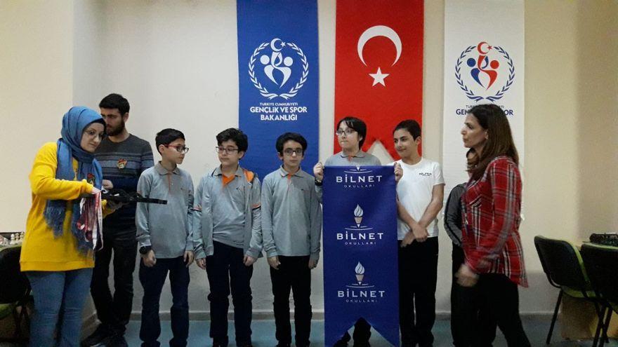 Bilnetli Minik Öğrencilerin Satranç Başarısı