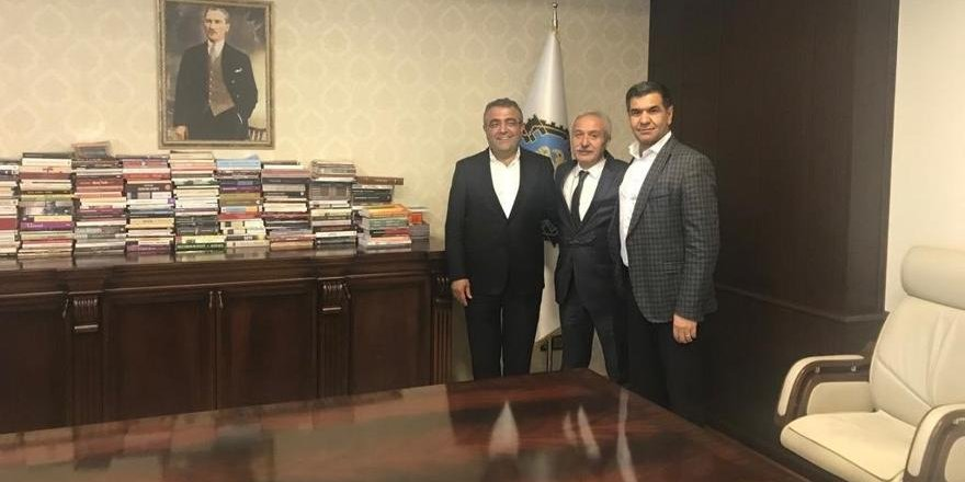 CHP'li Tanrıkulu'ndan Mızraklı'ya ziyaret