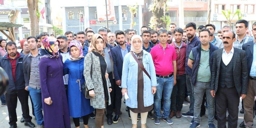Sur Belediyesi'nde işten çıkarılma kararına protesto
