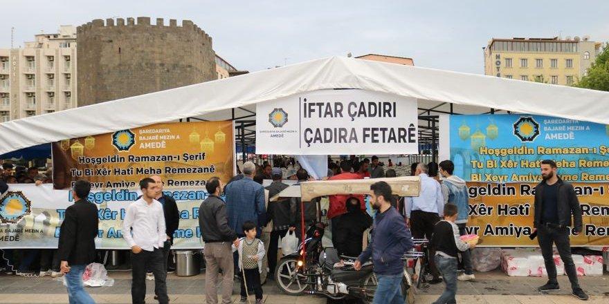 VİDEO - Diyarbakır'da ilk iftar