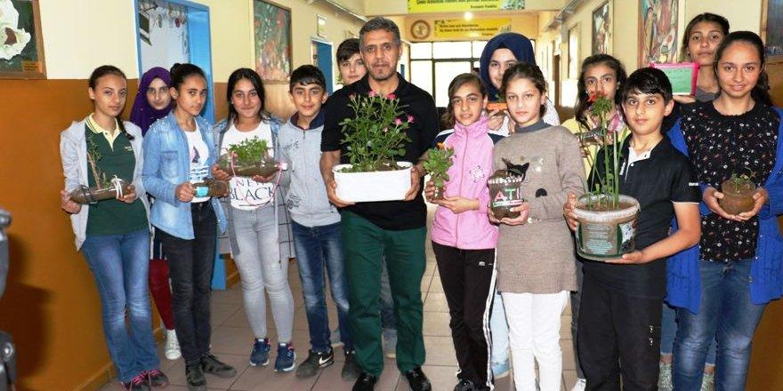 Diyarbakırlı öğrencilerden Sıfır Atık Projesi