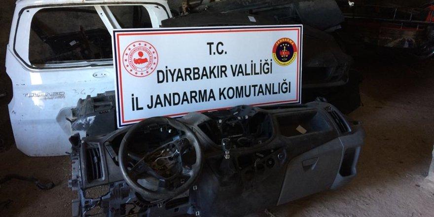Diyarbakır'da çalıntı araç operasyonu