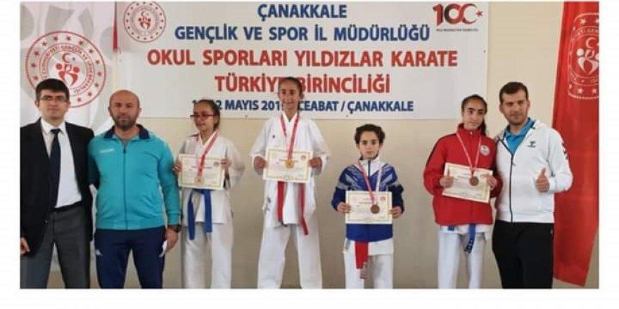 Diyarbakırlı karateci Türkiye Şampiyonu