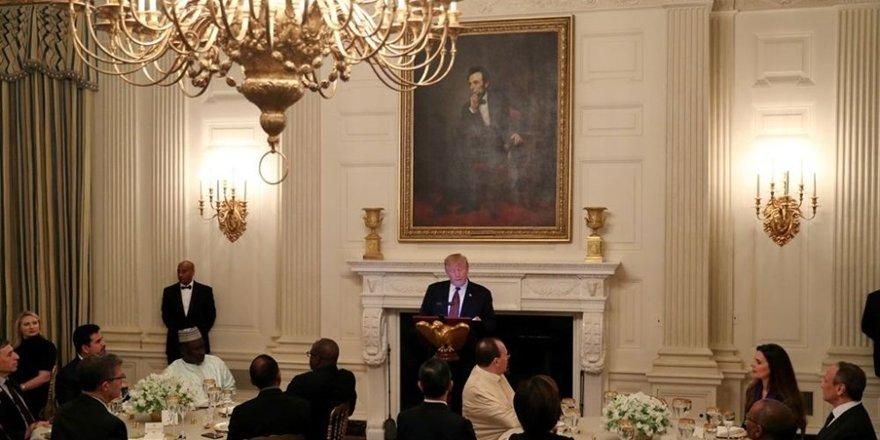 Beyaz Saray'da iftar yemeği