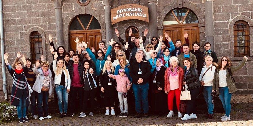 Avrupa tur operatörlerinden  Diyarbakır'a yoğun ilgi