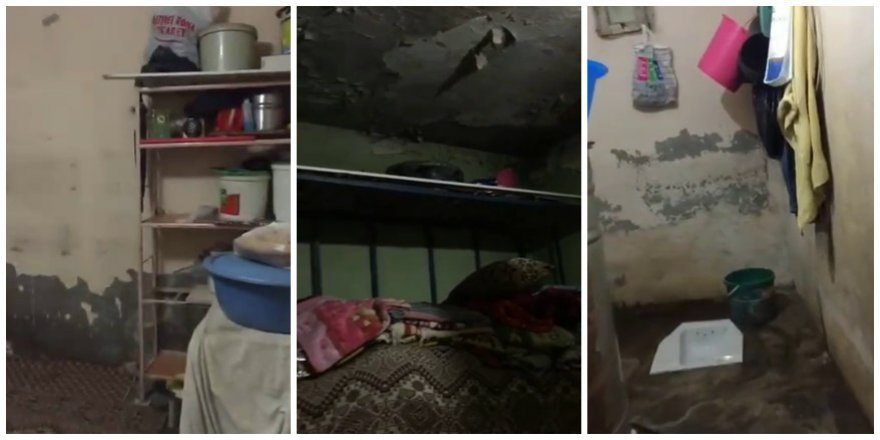 VİDEO - İki odalı evde yaşam mücadelesi!