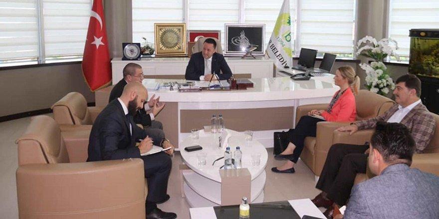 ABD Adana Konsolosluğundan Beyoğlu'na ziyaret