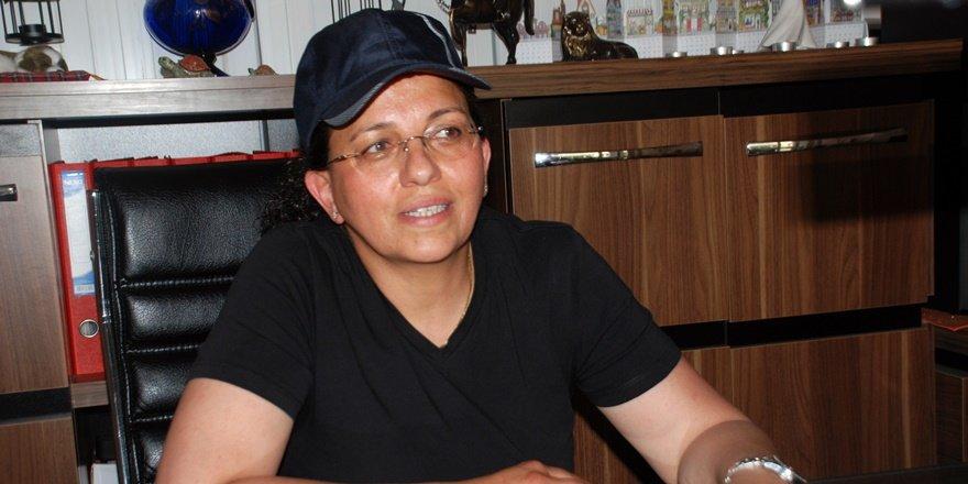 Ticaret merkezini tek kadın hububat tüccarı