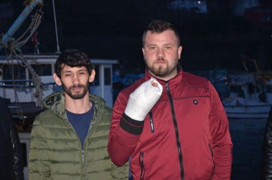 Romanya 8 Türk balıkçıyı gözaltına alırken 3 balıkçı yaralandı