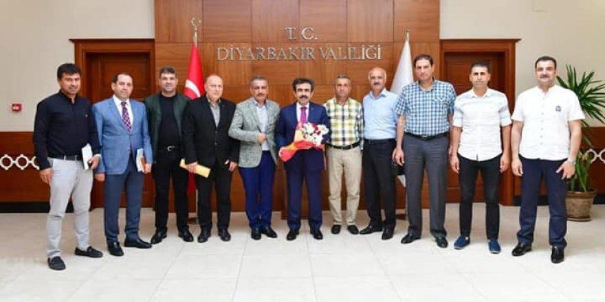 Yeni ASKF yönetiminden valiye ziyaret