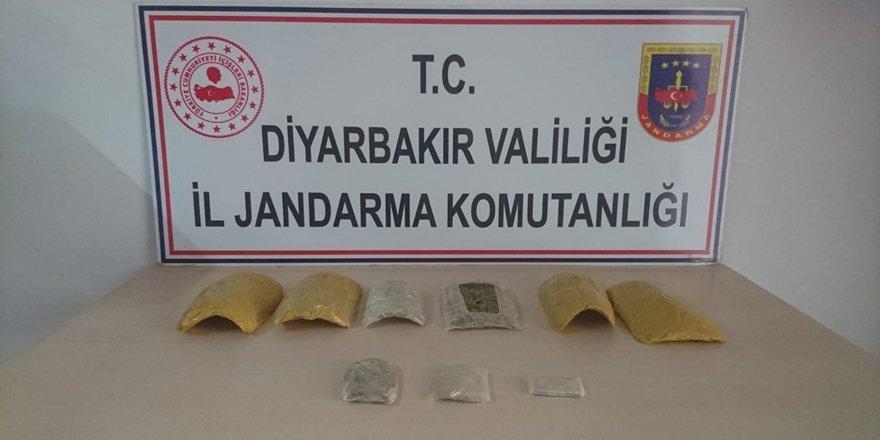 Diyarbakır'da esrar operasyonu
