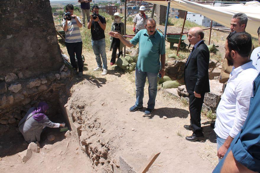 Amida Höyük'de kazı çalışmaları başladı
