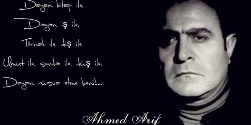 Ahmed Arif anması