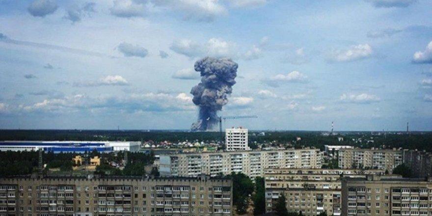 TNT fabrikasında patlama