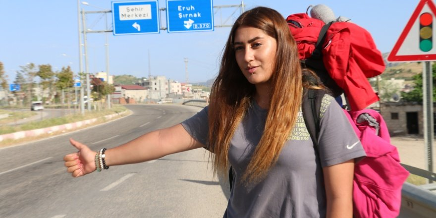 19 yaşındaki Dilara Türkiye'nin 80 ilini gezdi
