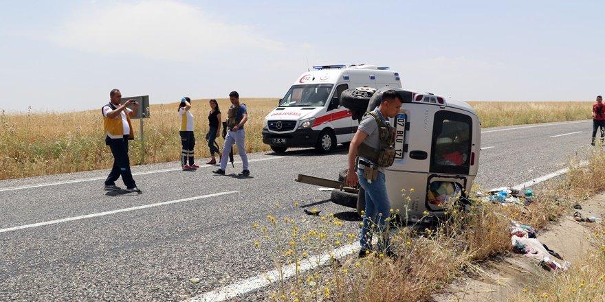 VİDEO - Diyarbakır'da bayram dönüşü feci kaza