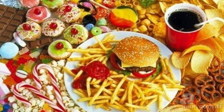 En sağlıksız besinler