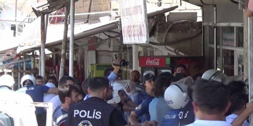 Hasankeyf'te açıklama gerginliği: 32 HDP'li gözaltına alındı