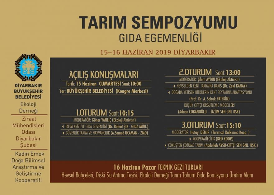 Diyarbakır'ın tarımı masaya yatırılıyor