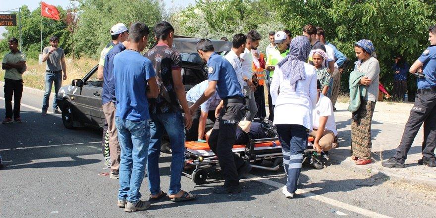 Elazığ'da feci kaza: 2'si çocuk 8 yaralı