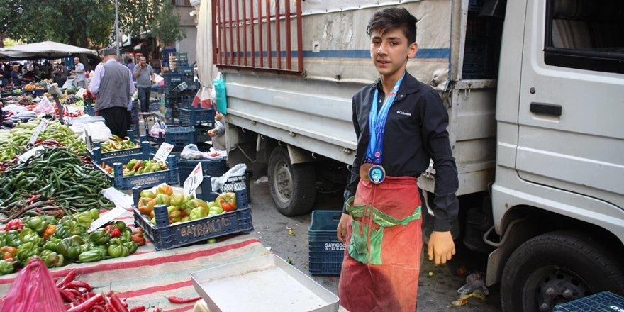 Diyarbakırlı şampiyon pazarcı