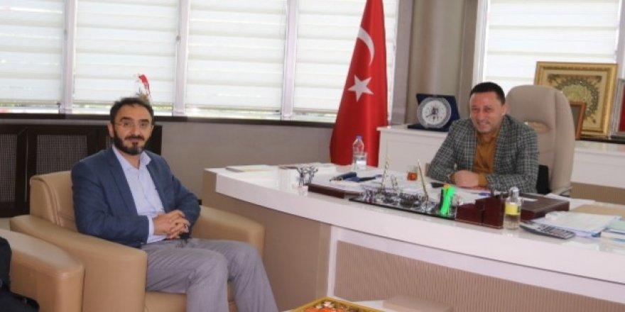 Müftü Karabayır'dan Başkan Beyoğlu'na ziyaret
