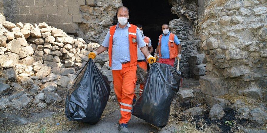Suriçi'nde temizlik seferberliği