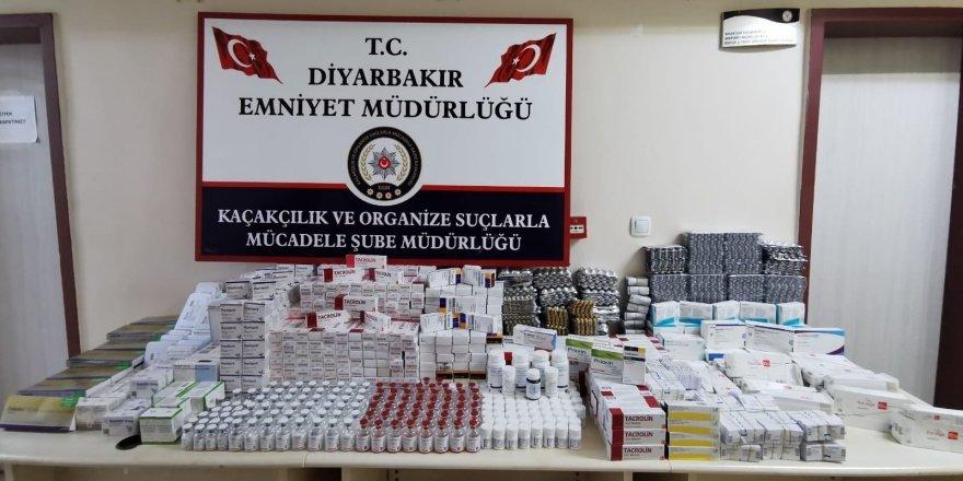 Diyarbakır'da yasa dışı ilaç sevkiyatına yönelik operasyon