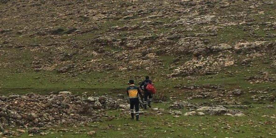 Diyarbakır'da kayalıktan düşen çoban öldü