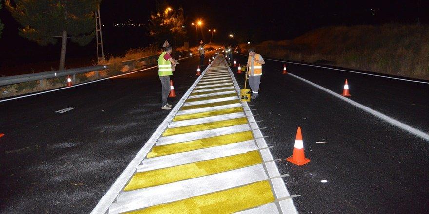 Mardinkapı-Bağıvar Köprüsü hattında asfalt çalışmaları tamamlandı
