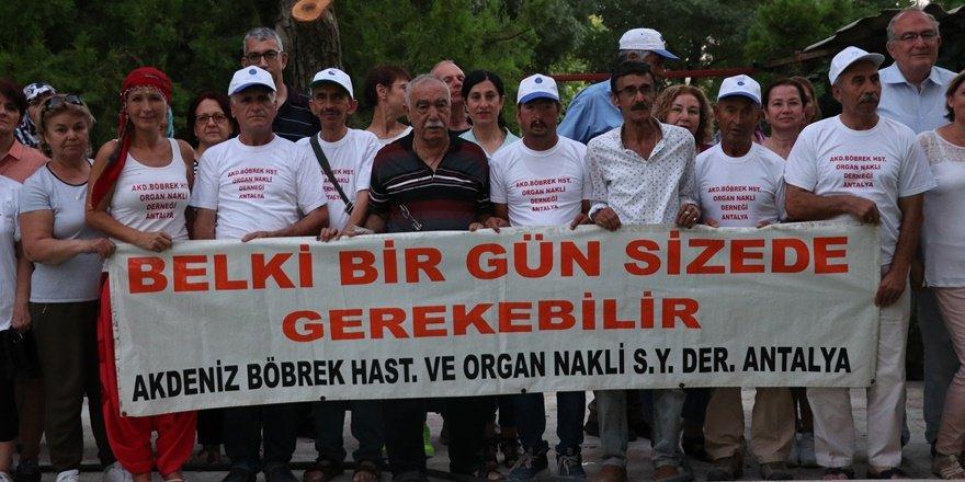 Organ bağışı için Türkiye'yi dolaşıyorlar