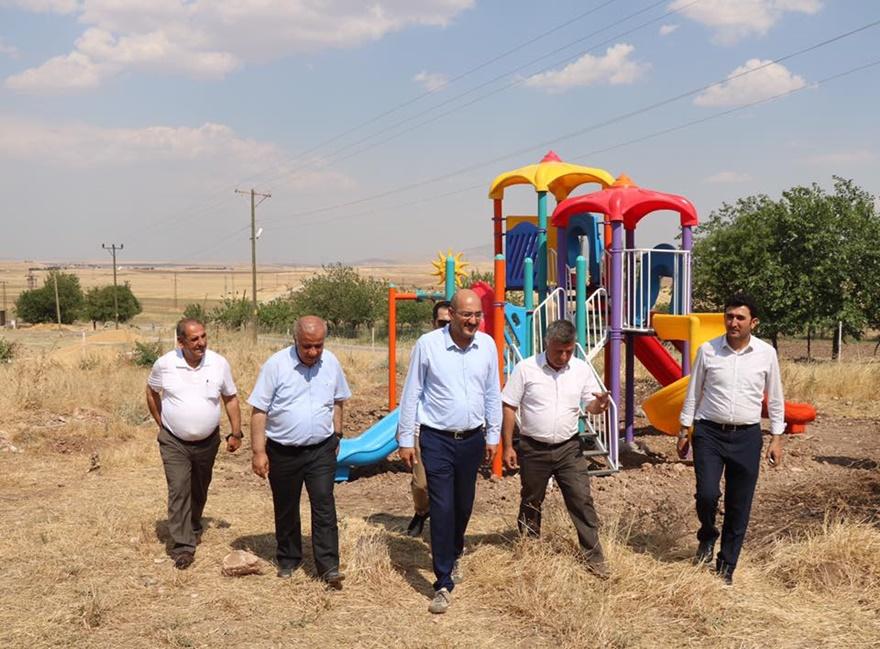 Kurtalan Kaymakamlığı'ndan köylere oyun parkı