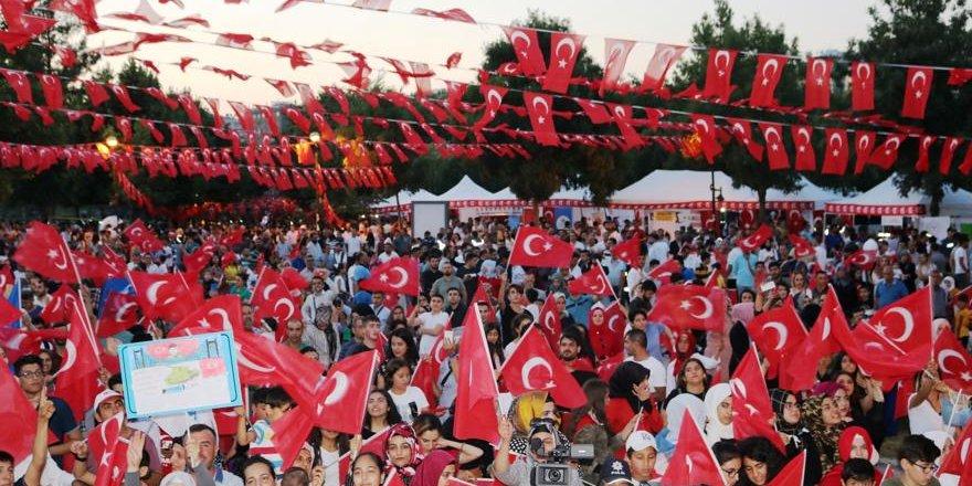 """Diyarbakır'da """"15 Temmuz Demokrasi ve Milli Birlik Günü"""" anması"""