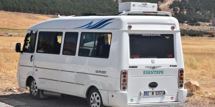 Yolcu minibüsüne ev tipi klima