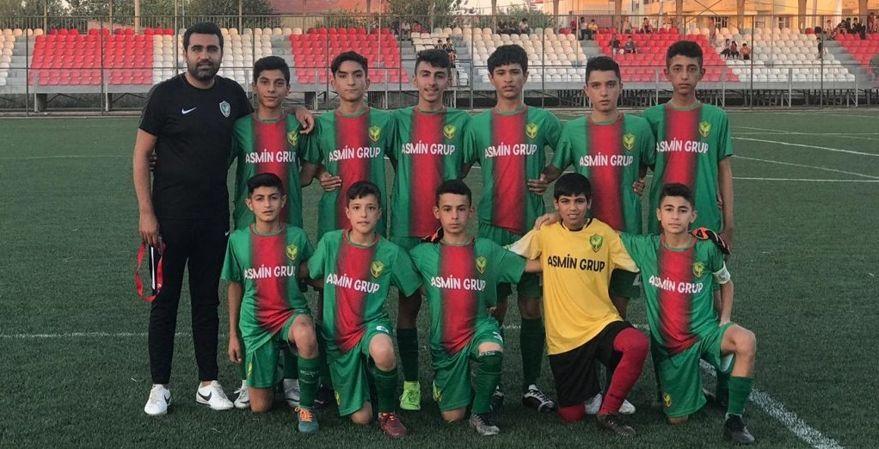 Amedspor'un gençleri namağlup şampiyon