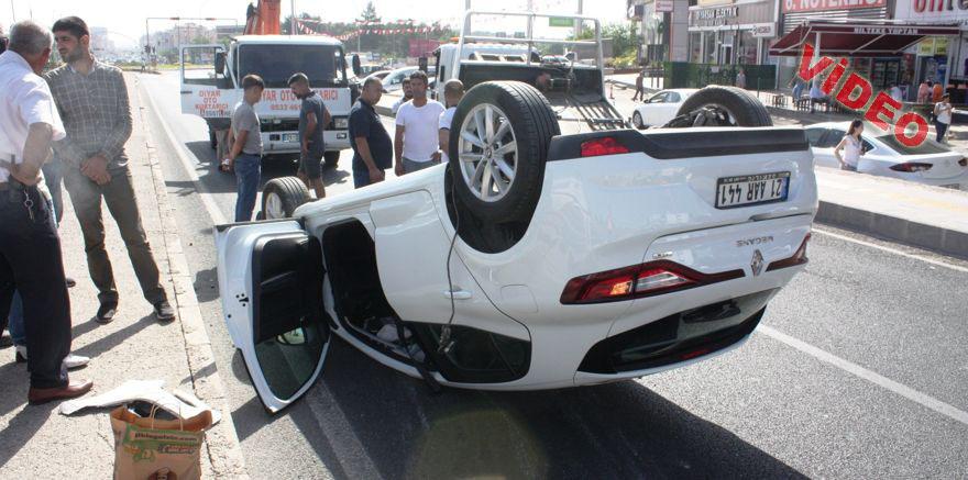 Şanlıurfa karayolunda trafik kazası: 5 yaralı