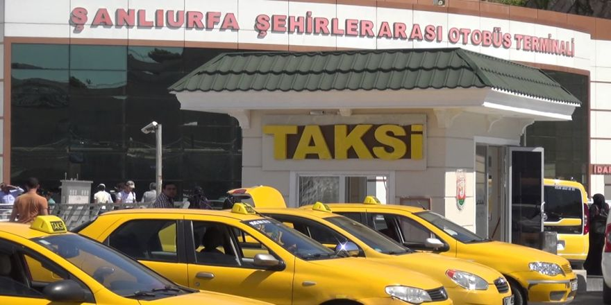 Şanlıurfa'da taksilere ceza ve trafikten men