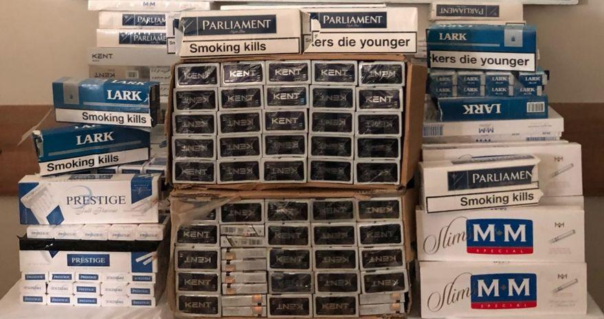 2 bin 650 paket kaçak sigara ele geçirildi