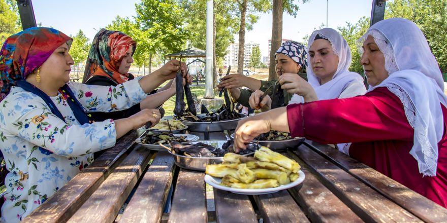 """Diyarbakır'da """"babaganuç"""" sezona açıldı!"""