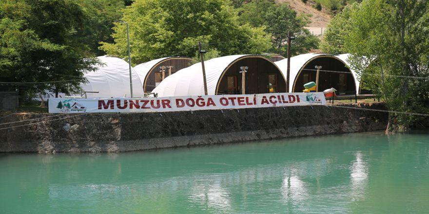 Türkiye'nin ilk çadır kamp oteli