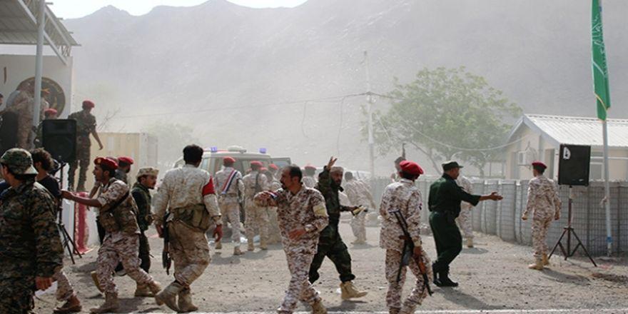 Aden'e İHA saldırısı: 32 ölü