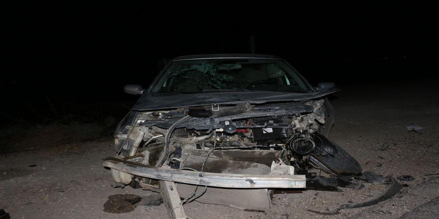 Mardin'de trafik kazası: 1 ölü, 3 yaralı
