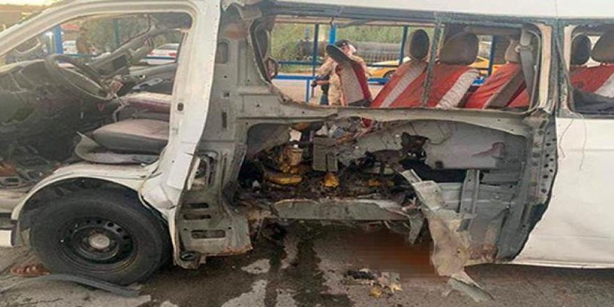Bağdat'ta patlama: 1 ölü, 4 yaralı