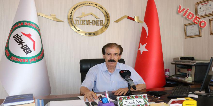 Düşen faizler, Diyarbakır'daki konut piyasasını canlandırdı