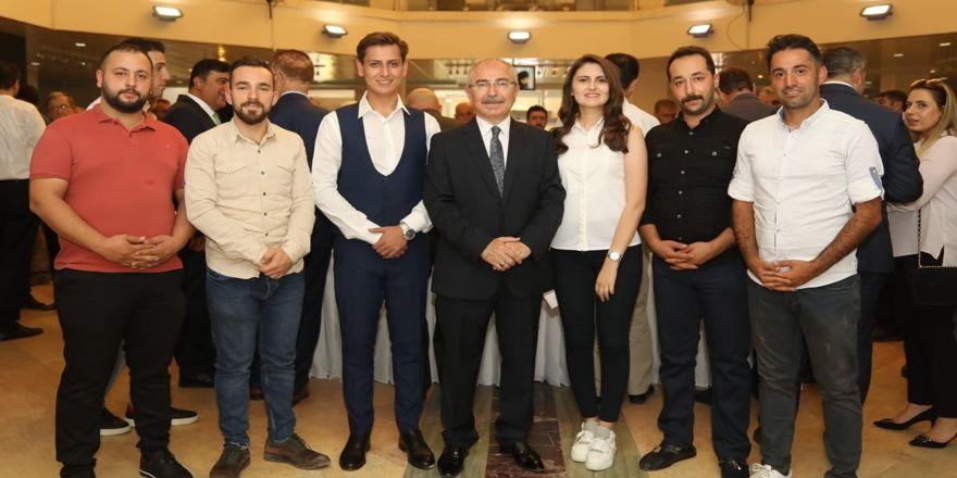 Mardin'de Süryaniler bayramlaşma programına katıldı