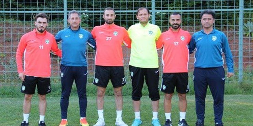 Yeni transferler kampta