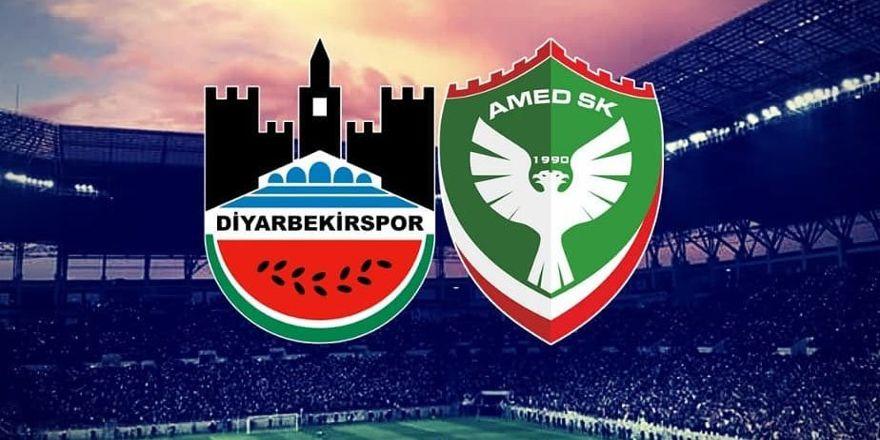 Amedspor ve Diyarbekirspor'un maçı belli oldu