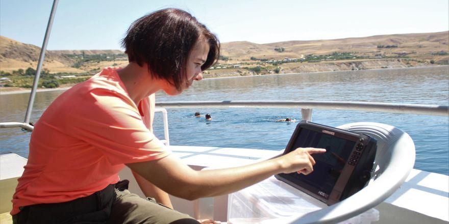 Van Gölü'nde Urartu izlerine rastlandı