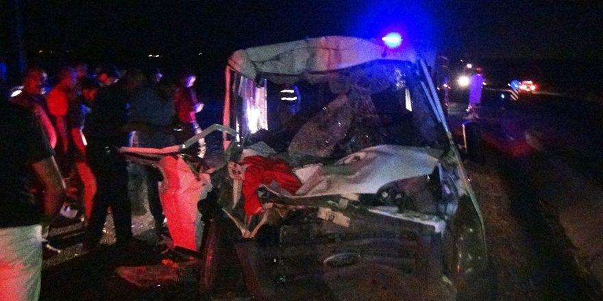Diyarbakır Silvan karayolunda kaza: 8 yaralı