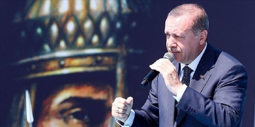 Erdoğan: Oyalanırsak kendi planlarımızı hayata geçiririz